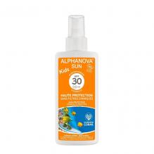 Lait solaire Kids  Bio Haute protection SPF 30  Spray 125 g
