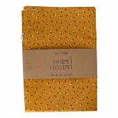Sac à pain - 35 x 50 cm - Moutarde