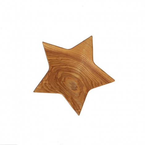 Plateau étoile en bois