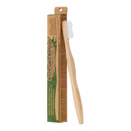Brosse à dents pour adulte en bambou