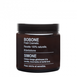 Crème visage - peau sèche et sensible - Simone - 110 ml