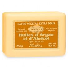 Savon végétal extra doux à l'huile d'argan et d'abricot - 250 g