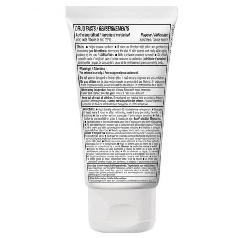 Crème solaire hypoallergénique SPF 30 - sans parfum - peau sensible 150 g