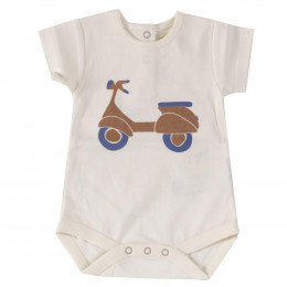 Body manches courtes en coton BIO - Scooter