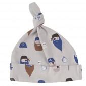 Bonnet en coton BIO - Pirates gris