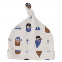 Bonnet coton BIO Pirates