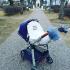 Couverture anti UV pour poussettes et sièges bébé - Please do not disturb
