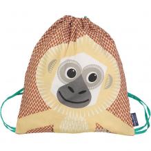 Sac d'activités enfant en coton BIO - Gibbon