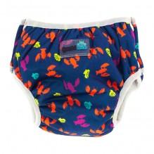 2 en 1 culotte d'apprentissage et maillot de bain - lot de 2 - Bleu homards