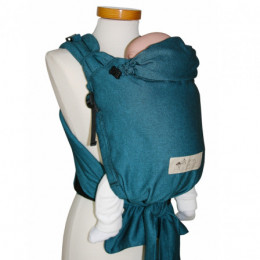 Porte bébé Baby Carrier - version SLIM - Turquoise