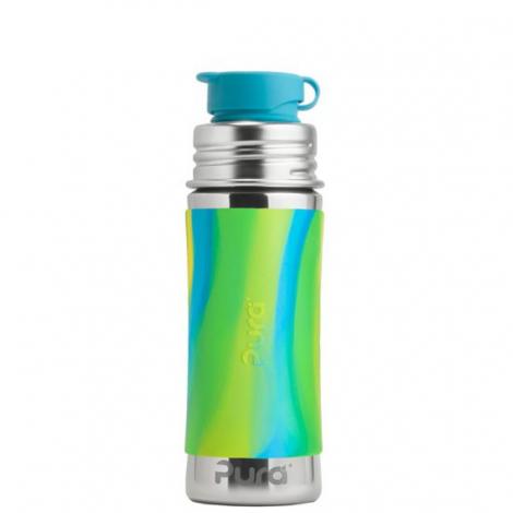 Gourde bouteille en inox - 275 ml - Aqua Swirl