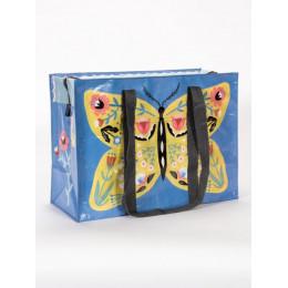 Cabas zippé en matériaux recyclés - Butterfly