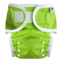 Culotte de protection pour couche lavable - 3,5 à 20 kg - Lot de 2 - Vert