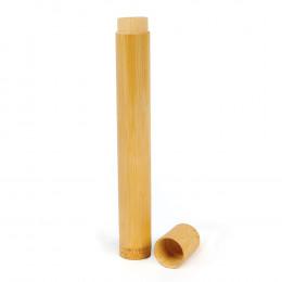 Etui en bambou pour pailles, brosses à dents ....