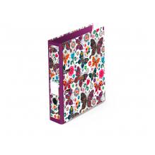 """Classeur à levier - format A4 """"Papillons"""""""