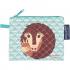 Mini trousse - porte monnaie en coton BIO - Pangolin