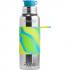 Gourde bouteille isotherme en inox - modèle sport - 650 ml - Aqua Swirl