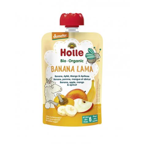 Gourde de fruits Banana Lama - à partir de 6 mois