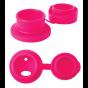 Bouchon sport en silicone pour bouteille en inox Pura - Rose