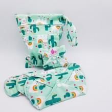 Kit de départ - serviettes hygiéniques lavables - Lamas