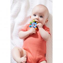 Hochet de dentition Roue multicolore - à partir de 6 mois