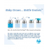 Manchon court en silicone pour biberon 150 ml - Turquoise