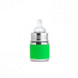 Manchon court en silicone pour biberon 150 ml - Vert