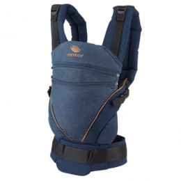 Porte-bébé Baby carrier XT en coton BIO - Denimblue Toffee