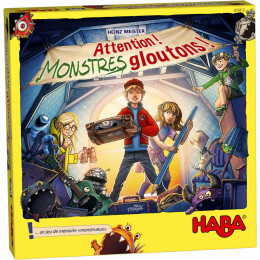 Attention! Monstres gloutons! Jeu de mémoire