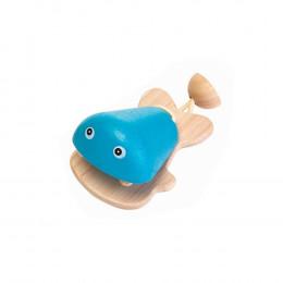 Castagnette poisson bleu - à partir de 12 mois