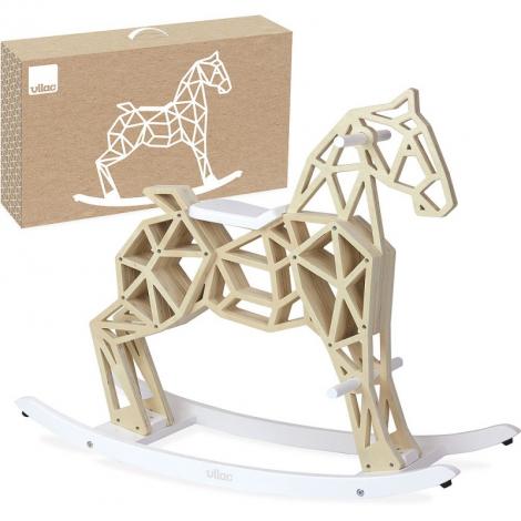 Cheval à bascule en bois - Diamant - à partir de 3 ans