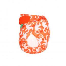 Culotte de protection PeeNut - Orange singes
