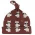 Bonnet en coton BIO - Raton laveur Spice