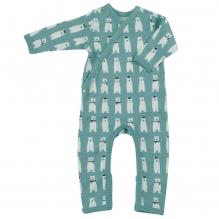 Pyjama - Combi en coton BIO avec pieds - Ours polaire