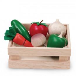 Panier de légumes - à partir de  3 ans