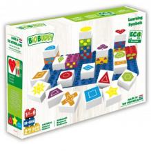 27 blocs de construction ECO - les formes - à partir de 18 mois