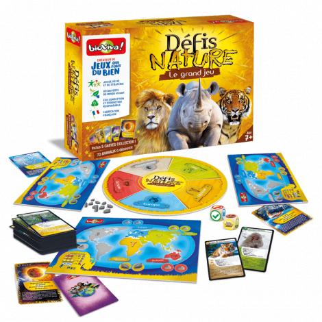 Défi Nature Le grand jeu - à partir de 7 ans