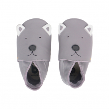 Chaussons - 08339 - Gull grey Woof