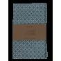 Sac à vrac - 25 x 30 cm - Fleurs bleues