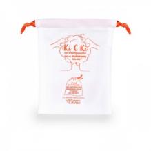 Sac pochon pour shampooing solide - KI C KI ? - orange