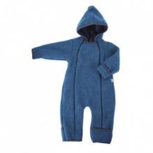 Combinaison intégrale en polaire de laine pour bébé - Jeans
