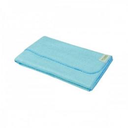Serviette de toilette en bambou 50 x 70 cm - Bleu