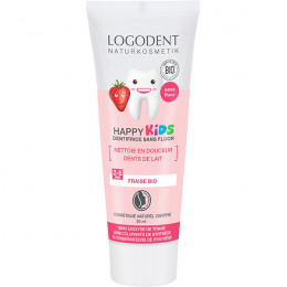 Dentifrice enfant à la fraise Happy Kids - 0 à 6 ans - 50 ml