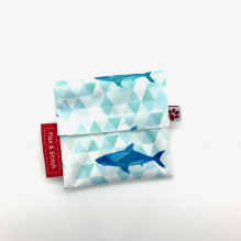 Mini pochette - Fierce Shark