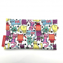 Pochette à baguette - Cartoon Cats
