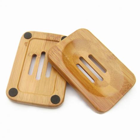 Porte savon plat en bambou