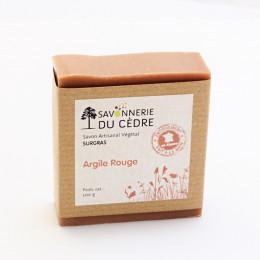 Savon surgras - Argile rouge - 100 g