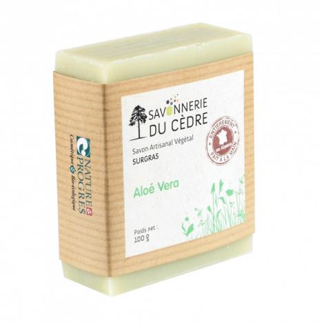 Savon surgras - Aloé Vera - 100 g