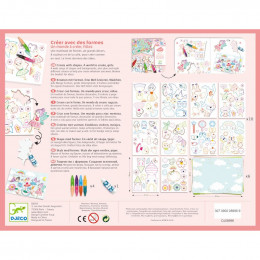 Atelier créer avec des formes - Un monde à créer, filles