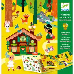 Histoires de stickers - La forêt magique